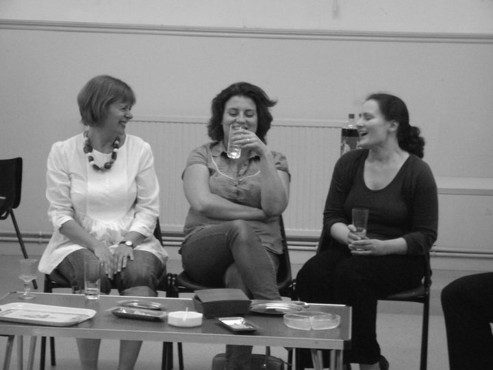 'Abigail's Party' in rehearsal - 2011.